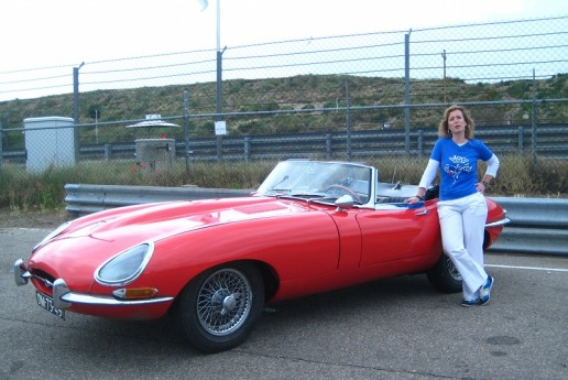 Georgette likes fast cars!